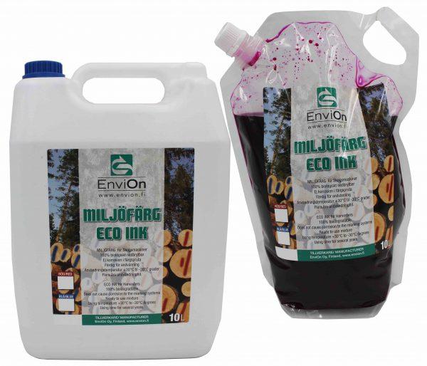 EnviOn Miljöfärg 3L påse och 10L behållare