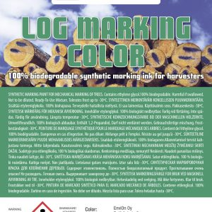 Log Marking Color produktetikett