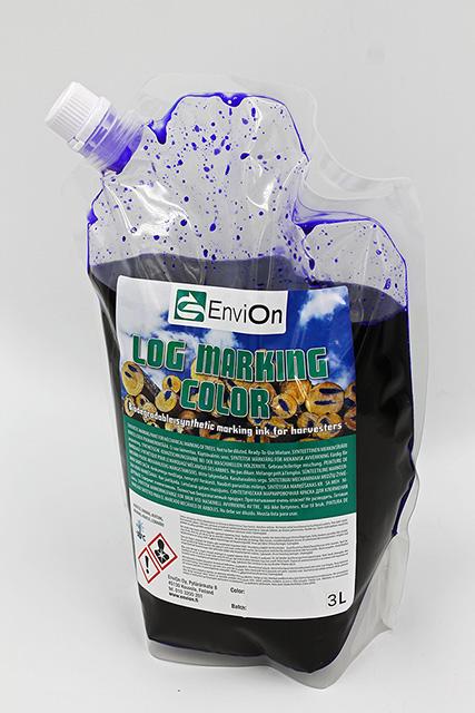 EnviOn Log Marking Color 3L påse blått färg